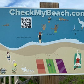 Check your beach!