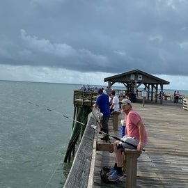 Now here's a picture of the left-hand side of the pier!