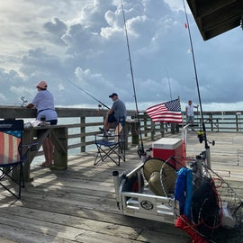 How patriotic - bring your flags when you fish!