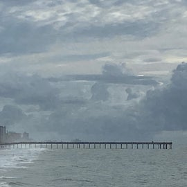 Myrtle Beach pier from afar!