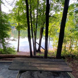Another perfectly framed campsite with views of the lake (are you getting the message here?!)