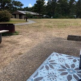 nice flat campsites!