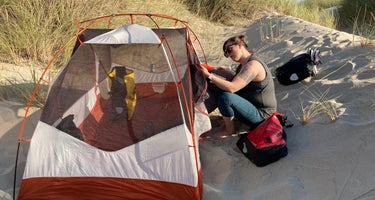 South Jetty Sand Camping