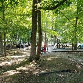 Nice playground right by RV sites