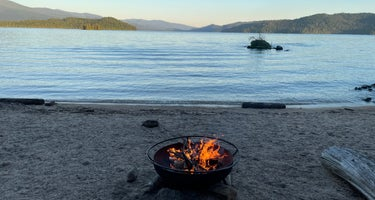 Kalispell Island Boat-in Campground