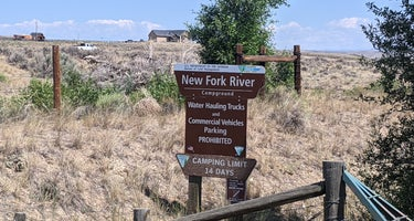 New Fork River BLM Campground
