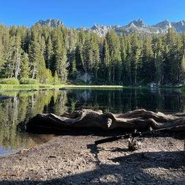 emerald lake - 30 min hike from camp