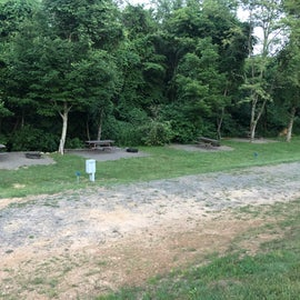 some of the campsites