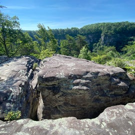 One of the views from the West rim trail