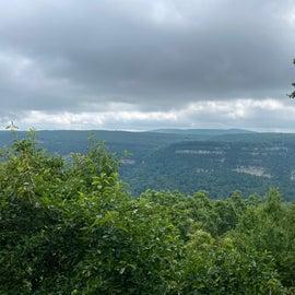 West rim trail point lookout