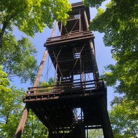 Don't plan on climbing the tower - it is permanently closed!