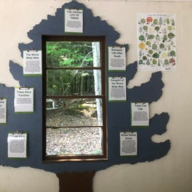 The Nature Center had nice informational displays