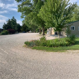 panoramic from near site 13 & store