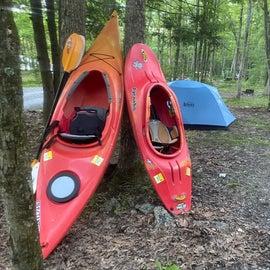 spacious campsite