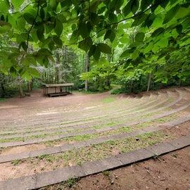Amphitheatre built by CCC