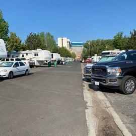 A trailer park