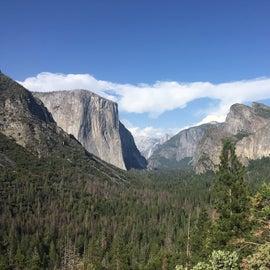 View near campsite