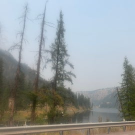 It was smoky- 2020 wildfires