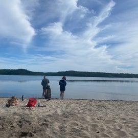 Cliff Pond beach
