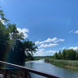 River where we kayaked