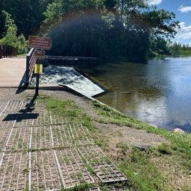 dam we kayaked to