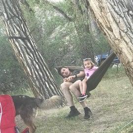 perfect hammock spot