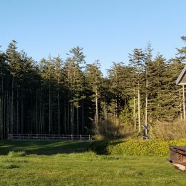 Fort Ebey old parade grounds
