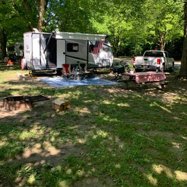 Good campsite with lots of shade