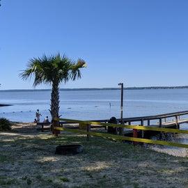The fishing pier.