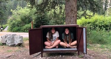 Teton National Forest Hoback Campground