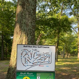 disc golf course on site