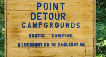 Point Detour Wilderness Campground