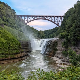 Upper Falls area.