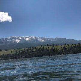 Snow peaks even in July