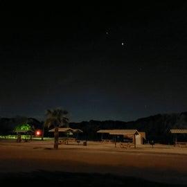 Beach at night - stargazing