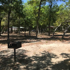 Day use picnic area.