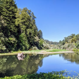 Russian River Across the Road