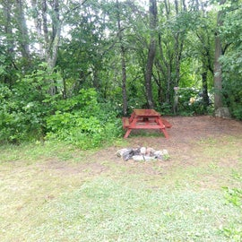 Small tent sites