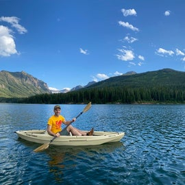 Bring your water craft to really get the most out of this beautiful lake.