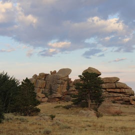 """Boulders stacked by """"playful"""" native spirits"""