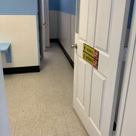 New Ladies shower room