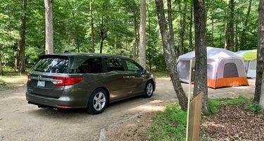 Sherando Lake Recreation Area Family Camping