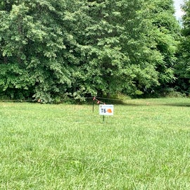 tent sites - didn't investigate but we think the actual site is in the tree area not out in open where this sign is.