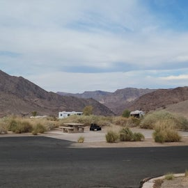Beautiful scenery from the campground sites.