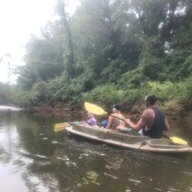 Kayaking on the Licking River