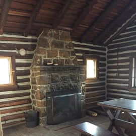Main room of cabin