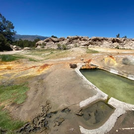first hot spring
