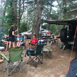 Kids love the camp location