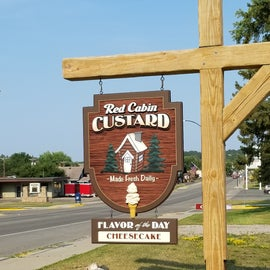 Stop for custard in Ely