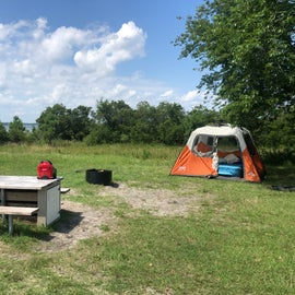 Campsite B35